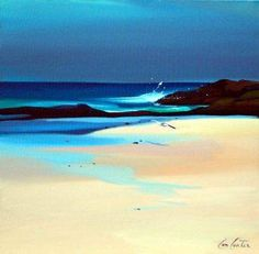 Pam Carter, oil paint artist... born in Tanzania, went to Scotland at 13, got a…