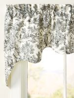 Essex Toile Rod Pocket Lined Empress Swag Pair Check Curtains, Amazing Decor, Drapes Curtains, Country Kitchen, Valance, Cottage Floor Plans, Country Kitchen Accessories, Retro Kitchen Decor, French Country Kitchens