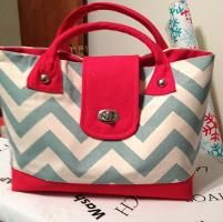 Chevron Bag by eMOtionelle