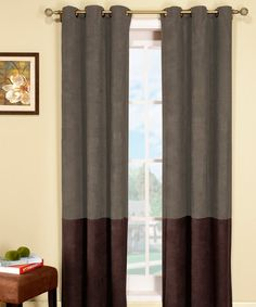 Take a look at this Sage & Brown Birmingham Curtain Panel - Set of Two by Duck River Textile on #zulily today! $28 !!