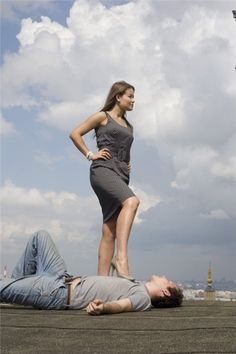 Exhausted, he's collapsed and allowed himself to be captured by her. She's now waiting for back up. Victory Pose, Female Supremacy, Mistress, Detective, Victorious, Worship, Exhausted, Lady, Gypsy