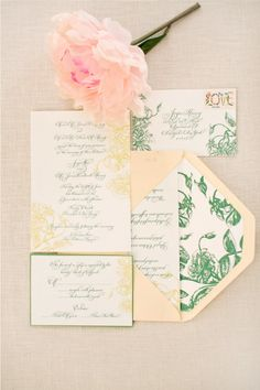from inspiration to reality #wedding #invitations #floral