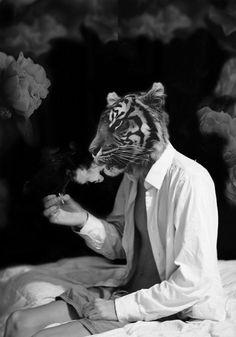 Trippy Tiger - Original Artwork
