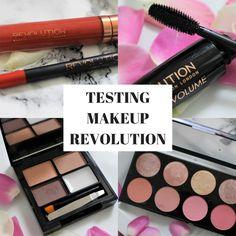 REVIEW: TESTING MAKEUP REVOLUTION PRODUCTS desperatelyseekinglifestyle.com #makeup #makeuprevolution