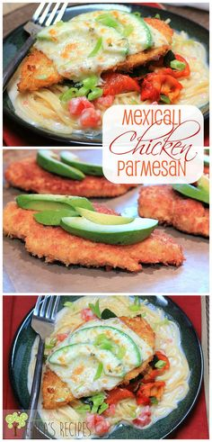 Mexicali Chicken Parmesan! This Mexican spin on the Italian classic is DELICIOUS! From EricasRecipes.com.