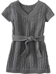 Newborn: Belted Cable-Knit Sweater Dresses for Baby - Heather Gray - Buy discount Newborn: Belted Cable-Knit Sweater Dresses for Baby - Heather Gray - Save on cheap Newborn: Belted Cable-Knit Sweater Dresses for Baby - Heather Gray - Oldnavy.com,Newborn,Sale: Newborn Girls,Dresses & Skirts,Heather Gray