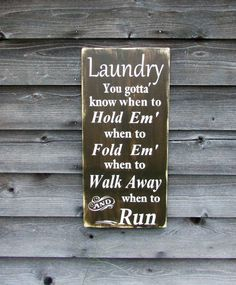 Laundry sign, hand painted primitive rustic laundry sign, funny laundry sign, rustic home decor, primitive home decor, home and living, sign