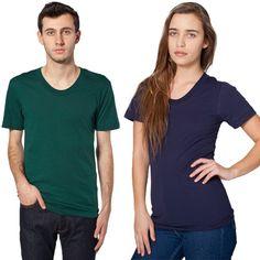 7a242c384000 Unisex Sheer Jersey Loose Crew Summer T-shirt..- 100% Sheer Jersey