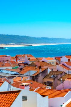 Wondering what the best things to do in Nazare Portugal are? Nazare is an awesome day trip from Lisbon full of amazing beaches, surfing, great restaurants and lots of places to go in Portugal! Things to do near Lisbon, where to go in Portugal, best places to visit in Portugal, Europe bucket list experiences, surfing in Europe.