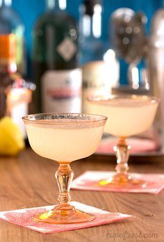 Corpse Reviver No. 2 - anything with gin and absinthe cannot be bad?