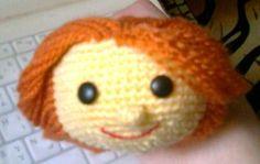 Crochet Doll head Amigurumi