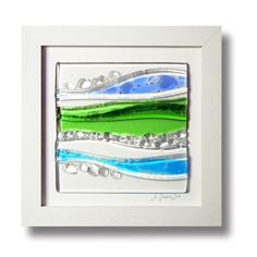 by Jazz It Up Jo Downs Fused Glass $145