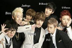 BLOCK B Members' Names