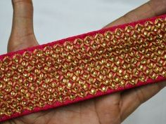 Crafting Fabric trims and Embellishments Indian Laces