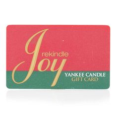 Yankee Candle Gift Card-for me