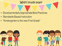 Play is still a vital part of the kindergarten curriculum. How are you incorporating play time to maximize your students learning and fun?