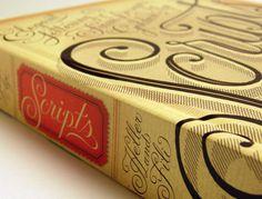 scripts: elegant lettering from design's golden age. by steven heller, louise fili