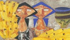 Padron, Latin America, Painting, Expressionism, Abstract, Canary Birds, Exhibitions, Art, Pintura