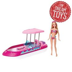Barbie Doll and Speedboat Set by Mattel #KohlsDreamToys