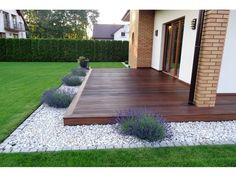 backyard designs – Gardening Ideas, Tips & Techniques Backyard Patio Designs, Front Yard Landscaping, Low Deck Designs, Small Backyard Decks, Landscaping Design, Zen Garden Design, Terrace Garden, Outdoor Gardens, Gardening