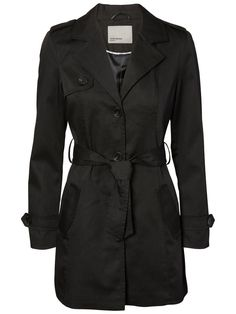 FEMININ TRENCHCOAT, Black, large