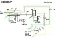Wire a Ceiling Fan 2way switch Diagram Repairs Electrical