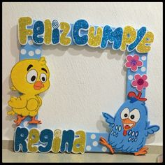 #gallina pintadita cuadro de fotos #AnaRegina