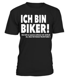 Ich bin Biker Tee Shirt   => Check out this shirt by clicking the image, have fun :) Please tag, repin & share with your friends who would love it. #dad #daddy #papa #shirt #tshirt #tee #gift #perfectgift #birthday #Christmas #fatherday