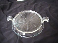 Vintage Clear Glass Fire King Trivit by VelsVintage on Etsy, $9.00