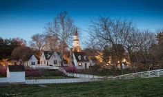 The Bruton Parish Church in the background on March Colonial Williamsburg, March 4, George Washington, Virginia, Triangle, Mansions, Usa, Country, House Styles