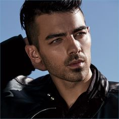 Singer Joe Jonas wears a Fendi jacket with a Lanvin shirt.