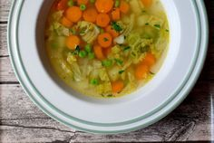 Mrkvová polievka s kelom a hráškom - Recept pre každého kuchára, množstvo…