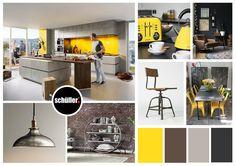 Concrete Design Mood Board   Schuller By Artisan #germankitchens  #kitchendesign #