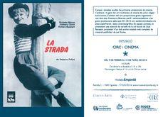 Postal 'Circ i Cinema'.  Disseny, maquetació i correcció de textos de tota la gràfica relacionada amb les exposicions 'Els espectacles de la Il·lusió a Figueres' i 'Circ i Cinema'. Museu de l'Empordà, 2013.