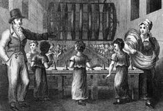 Who works in a factory? Typically, poor families. Mothers as well as children were employed by an industrial factory. These poor young workers reflected poorly on the industry.