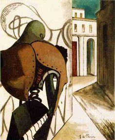 The Vexations of the Thinker by @artistdechirico #dechirico #arthistory