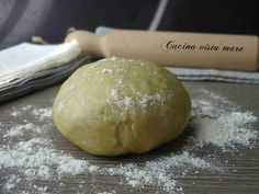 Pasta+brisée+all'olio+extravergine+d'oliva