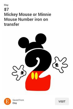 #2 MICKEY MOUSE TRANSFER