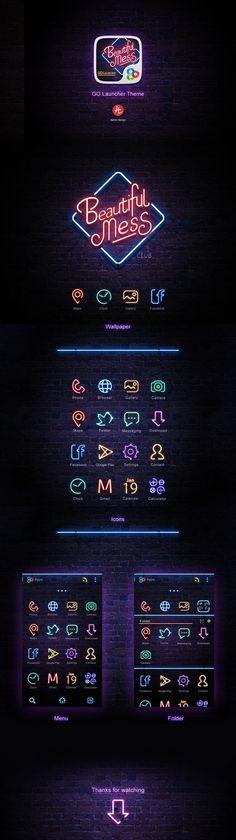 Simple Icons for dark version Web Design, Icon Design, Retro Design, Network Icon, Game Logo, Game Ui, Neon Logo, Simple Icon, Branding