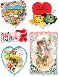 From: Vintage Valentines CD-ROM and Book