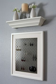 Cute jewelry display DIY