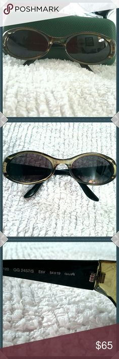 03a526e4b1e Selling this Gucci Sunglasses on Poshmark! My username is  elleemann.