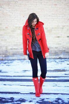 Red Hooded Coat  # #Robyn Vilate #Winter Trends #It-Girl #Best Of Winter Apparel #Coat Hooded #Hooded Coats #Hooded Coat Red #Hooded Coat Clothing #Hooded Coat 2015 #Hooded Coat Apparel #Hooded Coat How To Wear