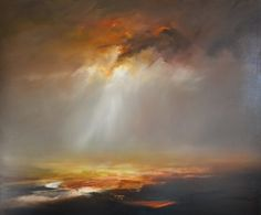 Theatre of the Storm Oil on canvas David Taylor