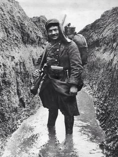 French soldier WW1