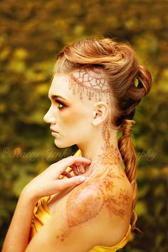 Blog — Color Inc Pro Lab, © Stacey Jenkinson Photography,  fashion photography, henna tattoo, portrait, hairstyle,