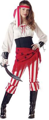 womens deluxe pirates of the caribbean angelica costume xl click image twice for more info see a larger selection womens pirate costume at h - Teenage Girl Pirate Halloween Costumes