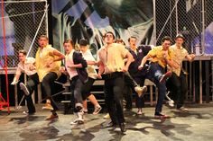The Jets in West Side Story