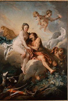 ♥ Francois Boucher, Aurora and Cephalus, 18th century