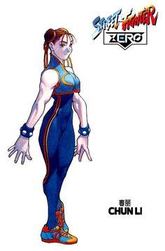 Street Fighter ZERO - Chun Li